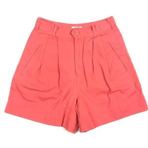Vintage 90s GAP 100% Cotton Pleated Front Shorts